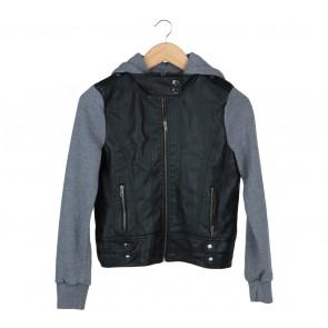 Forever 21 Black And Grey Jaket