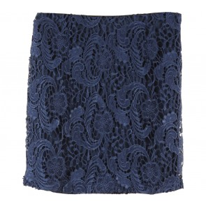 Forever 21 Dark Blue Lace Skirt
