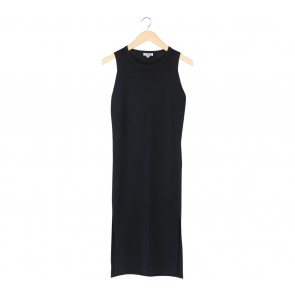 Love, Bonito Black Slit Midi Dress