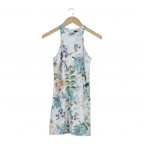 MDS Multi Colour Floral Sleeveless Mini Dress