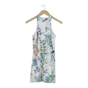 MDS Multi Colour Floral Sleeveless Mini Dress
