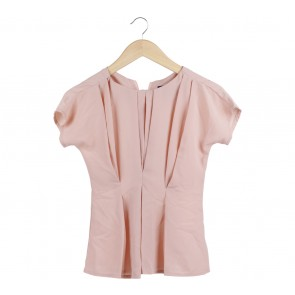 Label Eight Pink Blouse