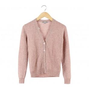 UNIQLO Pink Knit Cardigan