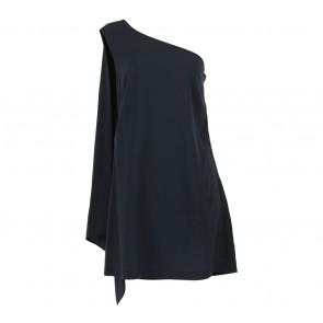 Topshop Black One Shoulder Mini Dress