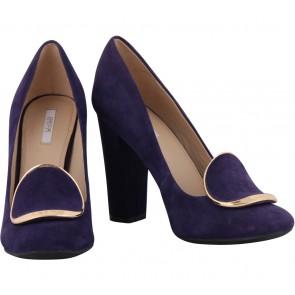 Geox Purple Heels
