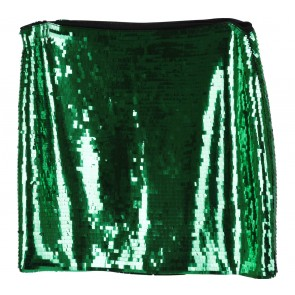 H&M Green Sequined Skirt