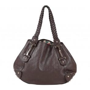 Gucci Brown Monogram Shoulder Bag