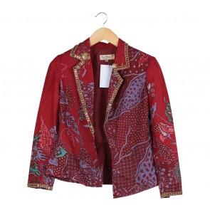 Dian Pelangi Multi Colour Batik Blazer