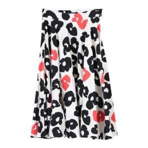 Jaspal Multi Colour Floral Midi Skirt