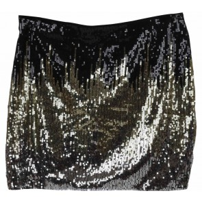 H&M Multi Colour Sequined Mini Skirt