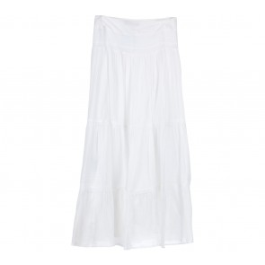 Zara White Maxi Skirt