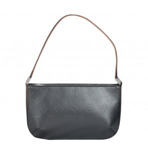 Louis Vuitton Dark Grey Patterned Shoulder Bag