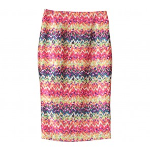 Multi Colour Abstract Skirt