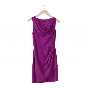 Oasis Purple Sleeveless Mini Dress