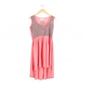 (X)SML Pink Midi Dress