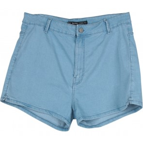 Bershka Blue Short Pants