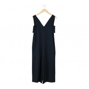 Kivee Dark Blue Cut Out Jumpsuit