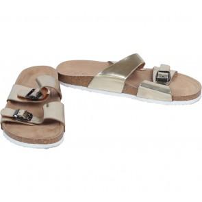 VNC Gold Sandals