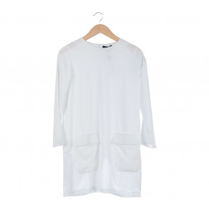 ATS The Label White Tunic Blouse