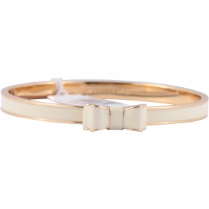 Kate Spade Gold And Cream Moon River Bangle Cream (142) Seasonless Jewellery