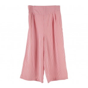 Dauky Red And White Striped Pants