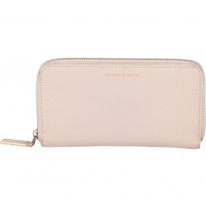 Charles and Keith Cream Wallet