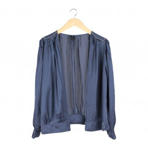 Mango Dark Blue Outerwear