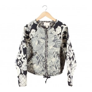 H&M Multi Colour Jaket