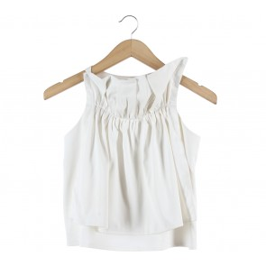 Tees And Scissors White Sleeveless