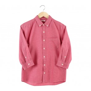 UNIQLO Red Shirt