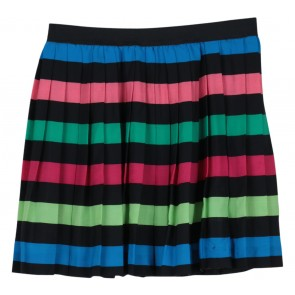 Divided Multi Colour Ruffle Skirt