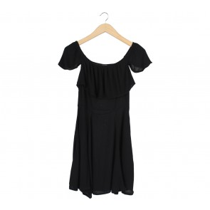 Cotton On Black Mini Dress