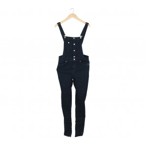 H&M Dark Blue Jumpsuit