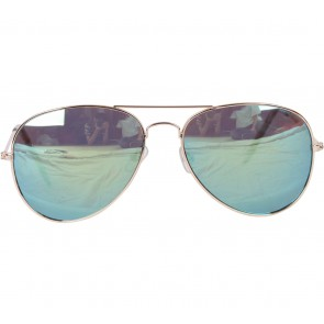 Zara Gold And Green Sunglasses