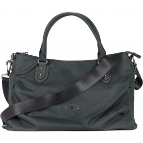 Beside-U Grey Satchel