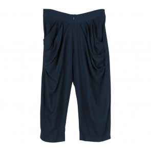Geulis Blue Drapped Pants