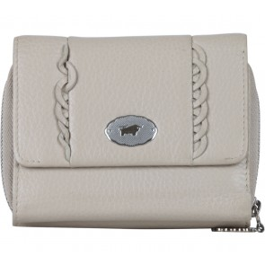 Braun Buffle Cream Folded Wallet