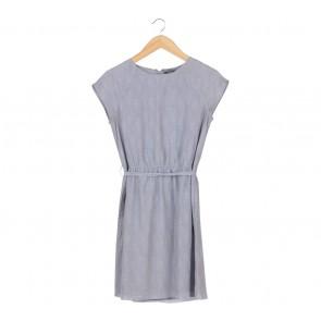 GAP Grey Patterned Mini Dress