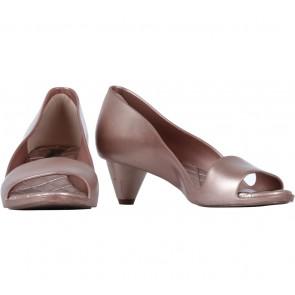 Melissa Bronze Jelly Heels