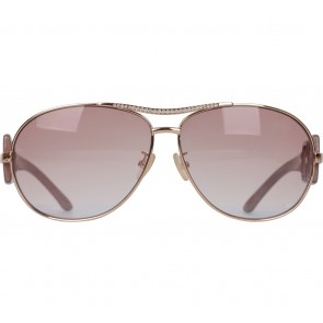 Charles and Keith Purple Tinted Aviator Sunglasses