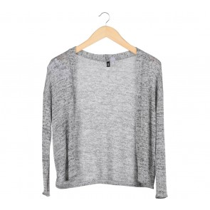 Divided Grey Knit Cardigan