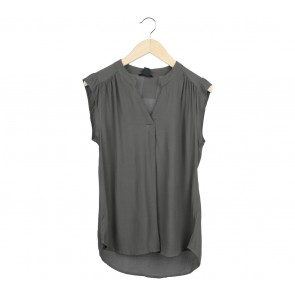 H&M Dark Green Sleeveless