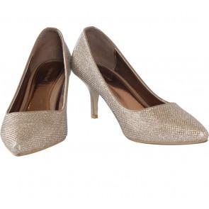 Karen  & Chloe Bronze Glittery Heels