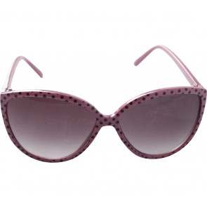 H&M Pink And Black Polka Dot Sunglasses