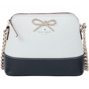Kate Spade Cream And Black Sling Bag