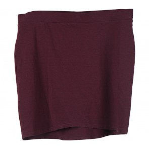 Divided Purple Mini Skirt