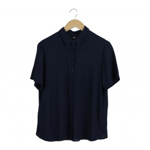 UNIQLO Dark Blue Shirt