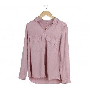 Stradivarius Pink Shirt