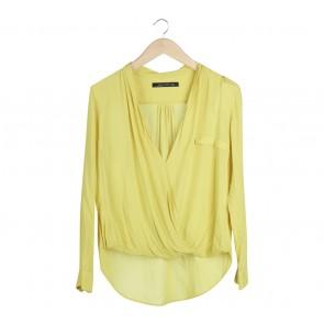 Zara Yellow Blouse