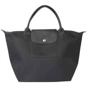 Longchamp Black Small Le Pliage Handbag